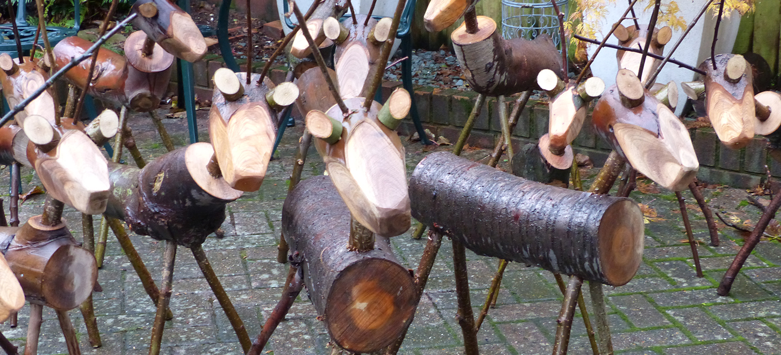 Tree Recycle - Reindeer made to order